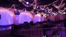 Des Moines Overhead Event Lighting